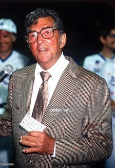 American actor and singer Dean Martin (1917 - 1995), circa 1988.