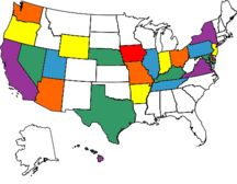 states I've been too!