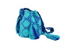 All blue everything mochila