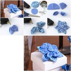 How To Make Beautiful Cloth Flower step by step DIY tutorial instructions, How to, how to do, diy instructions, crafts, do it yourself, diy ...