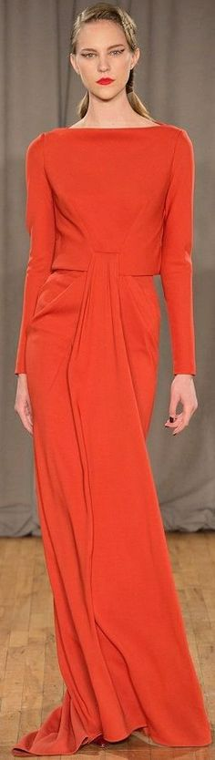CESPINS ❤ Zac Posen FW 201415. New York Fashion Week