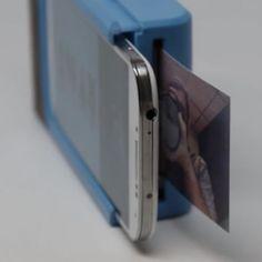Crean funda para smartphones que permite imprimir fotos