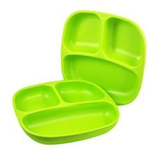 Re-play #divided #plates, #green, 2-count,  View more on the LINK: 	http://www.zeppy.io/product/gb/2/141697885696/