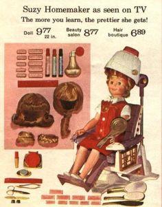 Suzy Homemaker, Beauty Parlor Version Z
