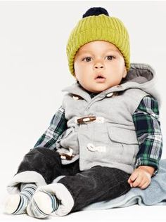 Baby Clothing: Baby Boy Clothing: We ♥ Outfits | Gap. So cute! Just need it to be a little bigger for my massive boys  Moda para invierno #modainfantil