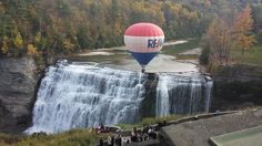 RE/MAX balloon over #LetchworthStatePark