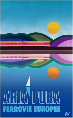 Poster Aria Pura, Foré, 1974 | Collection Arjan den Boer
