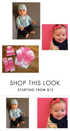 """Adorable Children's Outfits ,Colorful Handmade"" by helen-de-soto ❤ liked on Polyvore"