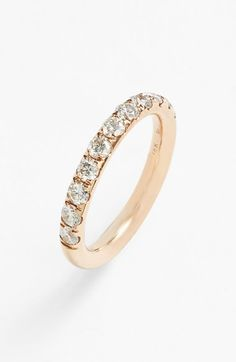 Bony Levy Diamond Stackable Ring available at #Nordstrom