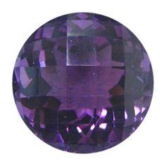 14.62 ct Round Amethyst Rich Purple -Gold Crane & Co.