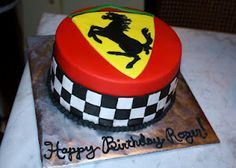 Ferrari cake! by Seriously Awesome Bakery