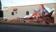 - Street Art by Fintan Magee  <3 <3