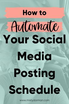 How to Automate Your Social Media Posting Schedule & Content Calendar Social Media Posting Schedule, Social Media Plattformen, Social Media Marketing Business, Social Media Channels, Digital Marketing Strategy, Marketing Plan, Content Marketing, Internet Marketing, Online Marketing