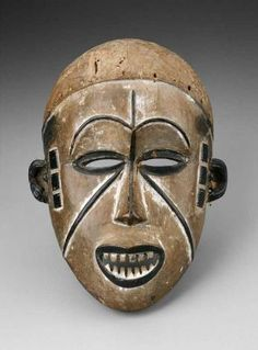 Mask African, Igbo peoples, Nigeria, 20th century
