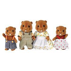Buy Sylvanian Families Beaver Family Online at johnlewis.com
