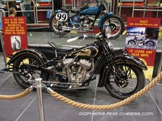 The 1935 Indian Chief found by Mike and Frank of American Pickers and restored by the guys of Rick's Restoration.