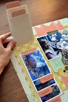While the Tab Punch is super handy for keeping albums, files, and documents organized, it's also great to use on scrapbook pages. For this layout I had one favorite photo I wanted to include, and ...