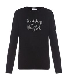 Pin for Later: Quand les Pulls de Noël Ringards Se Font Relooker Par Kate Moss, Poppy Delevingne, et Erin O'Connor Bella Freud X Kate Moss Pull de Noël Bella Freud X Kate Moss (500€)