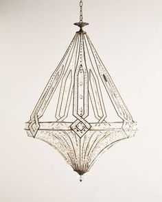 Shop Jausten Chandelier at Horchow, where you'll find new lower shipping on hundreds of home furnishings and gifts. Wood Chandelier, Chandeliers, Chandelier Chain, Kitchen Pendant Lighting, Art Deco Pendant Light, Luminaire Design, Filigree Design, Home Lighting, Art Deco Lighting