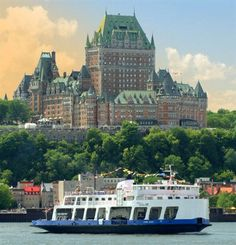 Ferry ride from Old Port in Quebec City to Levis and back.  Great, cool way to see the city and Chateau Frontenac.  Round trip is $7.