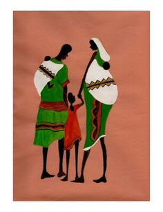 The Family -African art