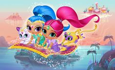 "NickALive!: Nickelodeon USA To Premiere ""Shimmer & Shine"" In August 2015"