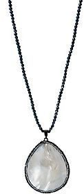 Joan Rivers Classics Collection Joan Rivers Pave' Encrusted Teardrop Necklace
