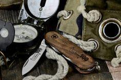 LL فول س فينغر 100 الذكرى EvoWood سكين الجيش السويسري