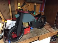 Custom painted Prince Lionheart balance bike