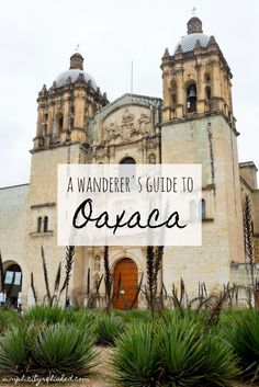 Oaxaca Mexico is full of beautiful spaces, incredible food and stunning artisan crafts. Here's a full guide to visiting Oaxaca and day trips from Oaxaca!