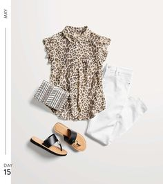 May Trends from Stitch Fix Love the top and the shoes. Maybe the bag for a special occasion. I'm good on white jeans. May Trends from Stitch Fix Chic Outfits, Fashion Outfits, Womens Fashion, Fashion Tips, Fashion Trends, Petite Fashion, Ladies Fashion, Work Outfits, Summer Outfits