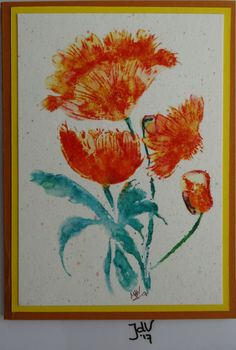 Card. Stamp: Penny Black