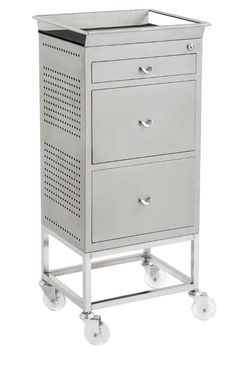 Hairdressing Salon Furniture - Hairdressing Supplies - Designer 3 Drawer Trolley