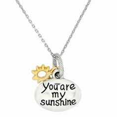 Loulou has to buy me this, i am her sunshine!! Sunshine Petite Necklace  available at #Brighton