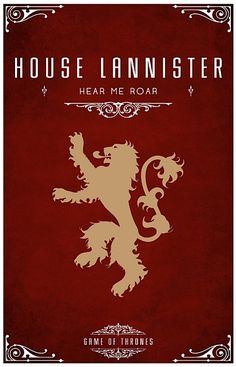 Awesome Game of Thrones posters.