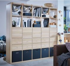 Kallax ikea living room idea home pinterest living room office pinterest living - Kallax raumteiler ...