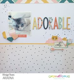 Layout Adorable by Ariadna