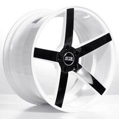 "19"" 20"" 22"" Staggered STR607 Wheels Rims White Black For Mercedes #AudioCity #RimsforCars"