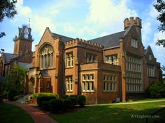 Old Main, Bethany College, Bethany, WV, Brooke County, Northern Panhandle Region