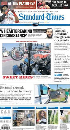 The Standard-Times. July 17, 2015.  City planners want to hear from residents about three New Bedford neighborhoods; Fifties Night a success; classic artwork returns to Dartmouth library, and more.