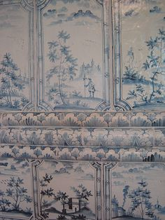 Peter the Great's summer palace detail. #18th century