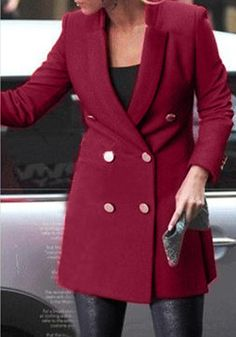 Port Double-Breasted Coat