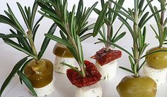 Simple but classy canapes