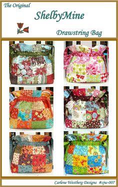 Pattern for Drawstring Bag