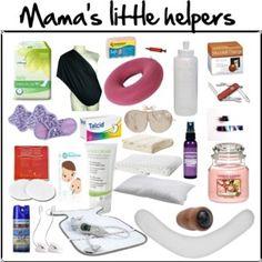 Krankenhaustasche: Mama's little helpers