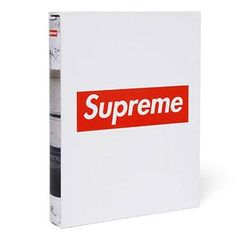 Supreme Book By Rizzoli at Urban Industry James Jebbia, Best Online Stores, Skateboard Design, Cool Books, Book Layout, Box Logo, Coffee Table Books, Advertising Campaign, Book Worms