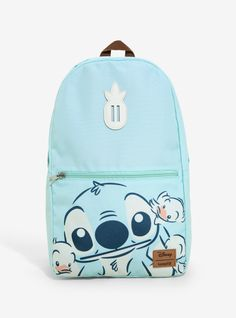 d34faab57a Loungefly Disney Lilo   Stitch Duckies Convertible Storage Backpack -  BoxLunch Exclusive Mochila Herschel Heritage