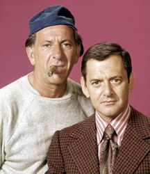 The Odd Couple (1970-1975) ABC ~ It stars Tony Randall as Felix Unger and Jack Klugman as Oscar Madison. The show is based on the play of the same name, which was written by Neil Simon. Felix and Oscar are two divorced men. Felix is neat and tidy while Oscar is sloppy and casual. They share a Manhattan apartment, and their different lifestyles inevitably lead to conflicts and laughs.