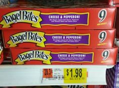 RARE Bagel Bites Coupon + Walmart Deal!  http://www.couponcloset.net/rare-bagel-bites-coupon-walmart-deal/?utm_campaign=coschedule&utm_source=pinterest&utm_medium=Carrie%20from%20CouponCloset.net%20(Coupons%20and%20Savings)&utm_content=RARE%20Bagel%20Bites%20Coupon%20%2B%20Walmart%20Deal!%20