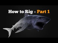 How to rig in Maya - Shark Part 1 - YouTube